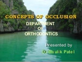 Concepts of dental occlusion and  i...