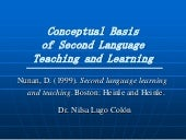 Conceptual basis of l2 teaching and...