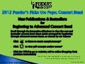 Pender's Pick the Pops 2012 | Concert Band Sheet Music