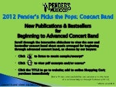 Pender's Pick the Pops 2012 | Conce...