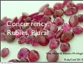 Concurrency: Rubies, plural