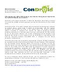 Condroid KTH Summer CSD 2011 - Press Release