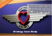 Business Model Canvas of Discount Airline case study Southwest Airlines - Short version