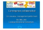 l'entreprise « collaborative » : un...