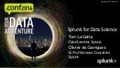 Splunk conf2014 - Splunk for Data Science