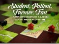 Student, patient, farmer, fan: Managing facets of a large social media ecosystem