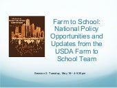 Farm to School: National Policy Opp...