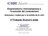 Conferencia Joan Torrent UOC Alumni...