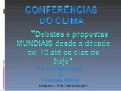 Conferencias Do Clima