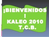 Conferencias kaleo 2010