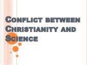 Conflict between Christianity and S...