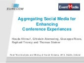 Aggregating Social Media for Enhanc...