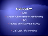 Export Compliance ITAR 2 of 3