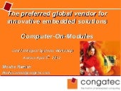 Congatec_Global Vendor for Innovati...
