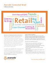 Connected Retail Solutions by Avanade