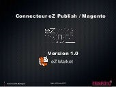 Connecteur eZ Publish/ Magento