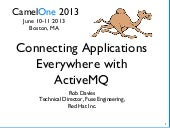 Connecting Applications Everywhere with ActiveMQ