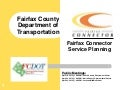 Fairfax Connector Service Planning