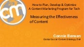 Measuring the Effectiveness of Content