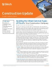 Construction Industry Update - Spring/Summer 2015