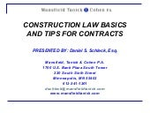 Construction law basics 1103041