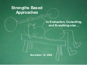 Strengths Based Approaches