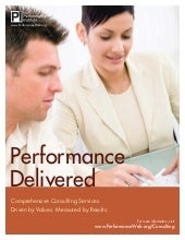 Consulting Brochure / The Performan...