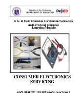 Consumer electronics-servicing-lear...