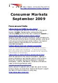 Consumer Markets - September 2009