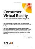 Consumer Virtual Reality: State of the Market