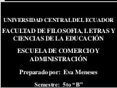 Universidad Central del Ecuador Fac...