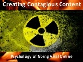 Contagious Content: Going Viral Online