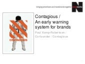 An early warning system for brands