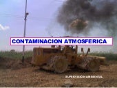 Contaminacion atmosferica post