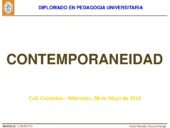 Contemporaneidad