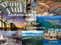 Contemporary population Issues Queensland Australia