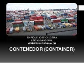 Contenedor (container) expo logistica