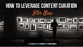 How to Leverage Content Curation in SEO #BrightonSEO