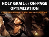 Holy Grail of On-Page Content Optimization