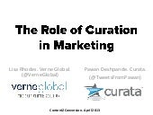 The Role of Curation in Content Mar...