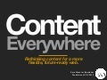 Content Everywhere - WebVisions PDX