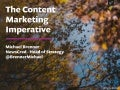 The Content Marketing Imperative - Michael Brenner, Head of Strategy, NewsCred