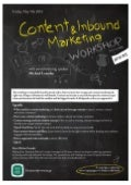 Content and Inbound Marketing Workshop in Athens, Greece