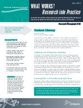 Content literacy   research into pr...