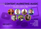 Content Marketing Magic e-book [2013]