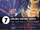 7 Amazing Content Quotes For Your N...