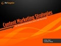 B2B Content Marketing Strategies for Demand Generation and Lead Nurturing