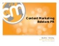 Content Marketing as a PR Tool