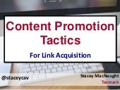 Content Promotion Tactics for Link Building