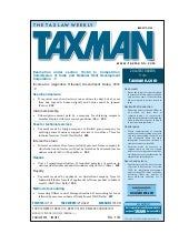 The Tax Law Weekly By Taxmann
